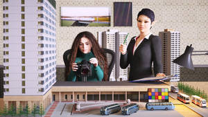 Taking architectural model photos