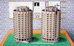 Scale Model of Town Residential Building 2 by pnn32