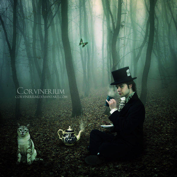Tea Time by Corvinerium