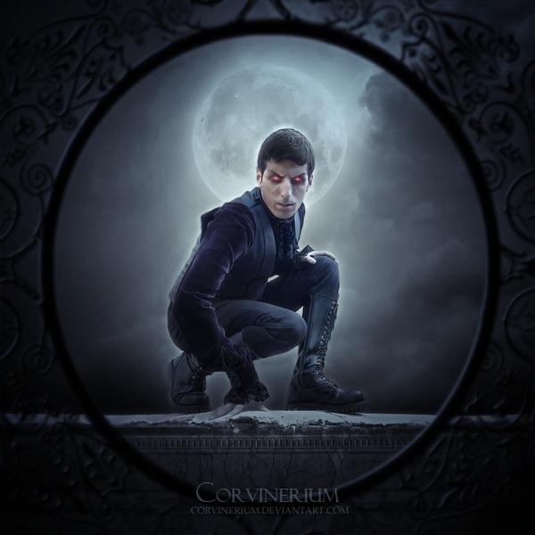 Night Of The Vampire by Corvinerium