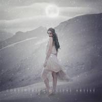Snow Moon by Corvinerium
