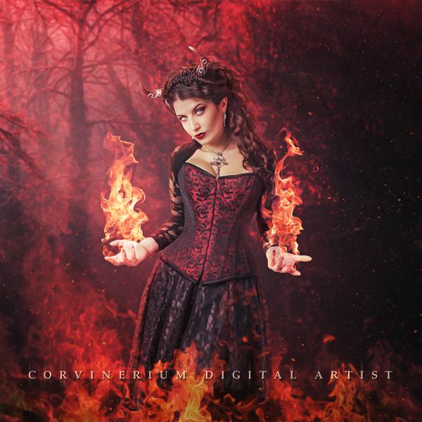 Fire Magic by Corvinerium