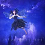 The Black Fairy by Corvinerium