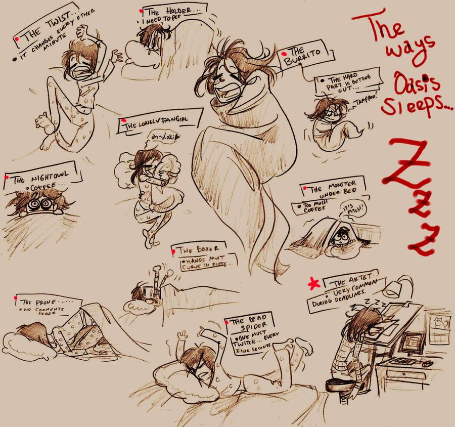 Sleeping ZZzzZZZzz by oasiswinds