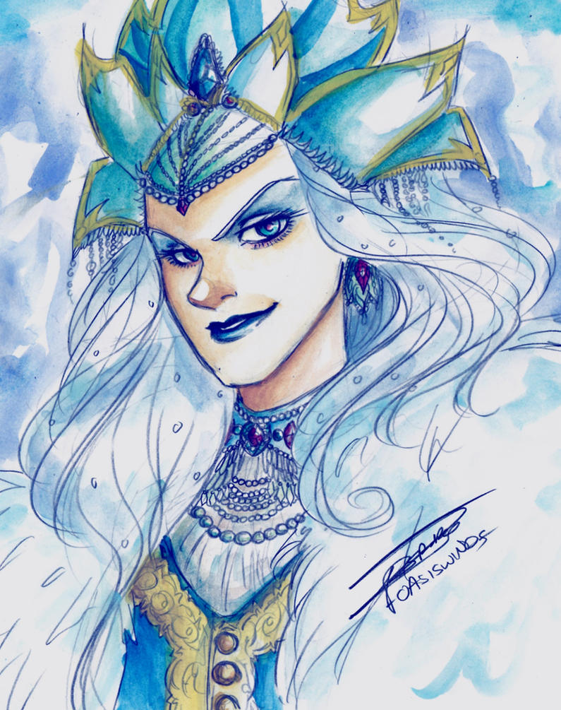 Snow Queen by oasiswinds