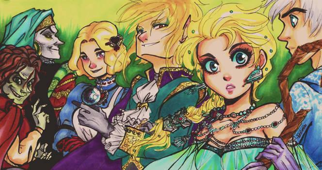 Snow Queen Characters