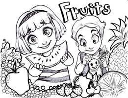 Fruits by oasiswinds