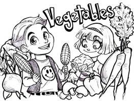 Veggies by oasiswinds