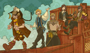 crew of the clever daughter