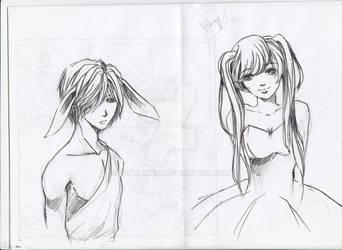 some sketch at MAF by SatoHikaru