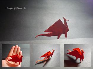Simple dragon by guspath
