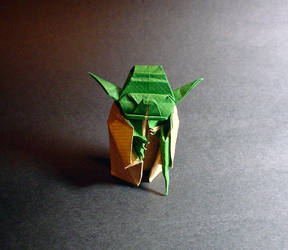 Yoda by Fumiaki Kawahata by guspath