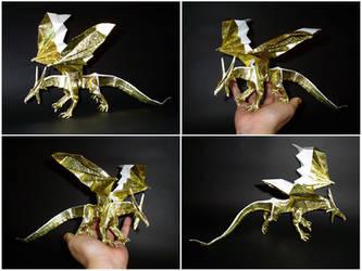 Golden drake by guspath