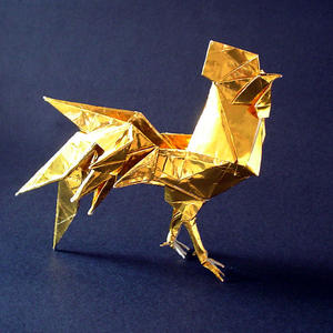 Golden rooster ::with spurs:: by guspath