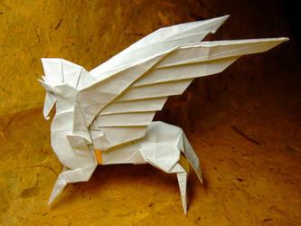 Pegasus by Fumiaki Kawahata by guspath