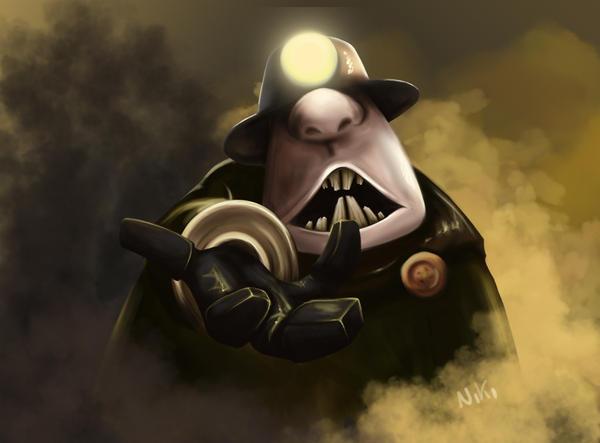 Underminer - Incredibles by NikiVandermosten