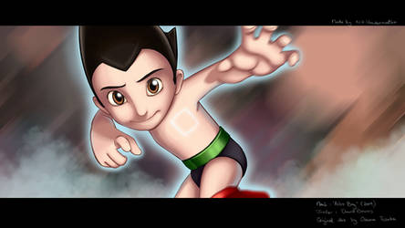 Astro Boy by NikiVandermosten