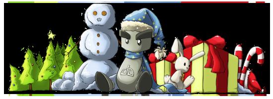 December Fella Banner by NikiVandermosten