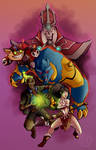 My favorite Champions from League of Legends
