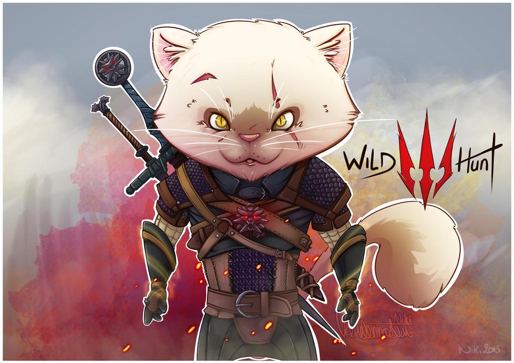 The Pixel Witcher by NikiVandermosten
