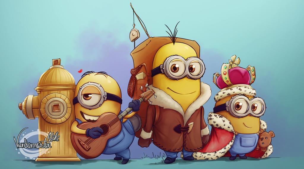 Minions by NikiVandermosten