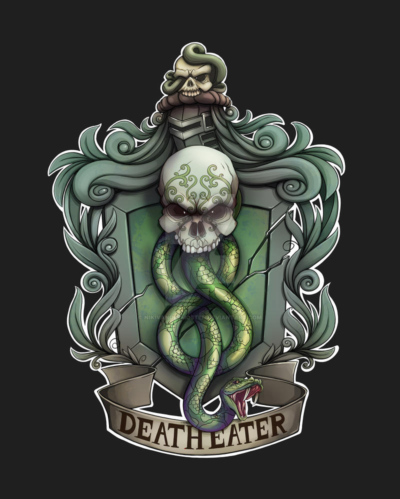 Hp Deatheaters By Nikivandermosten On Deviantart