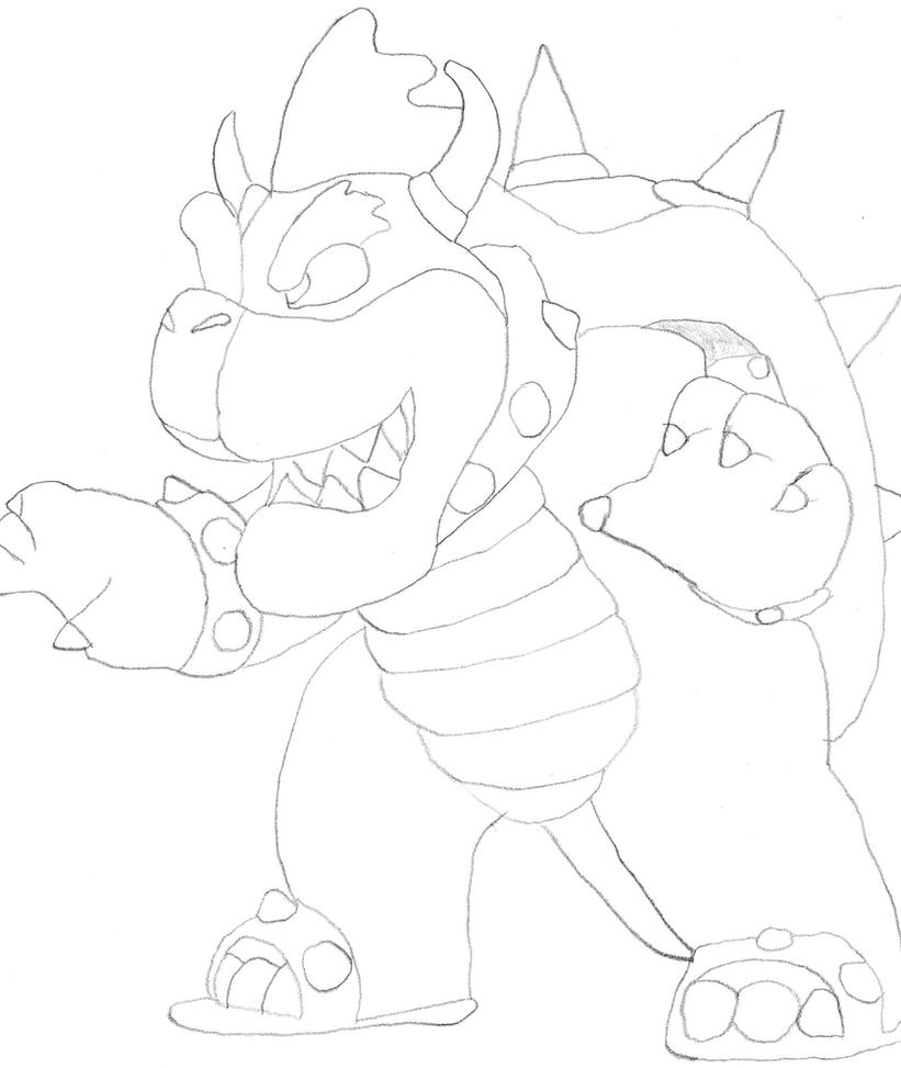 dry bowser mario coloring pages sketch coloring page. Black Bedroom Furniture Sets. Home Design Ideas
