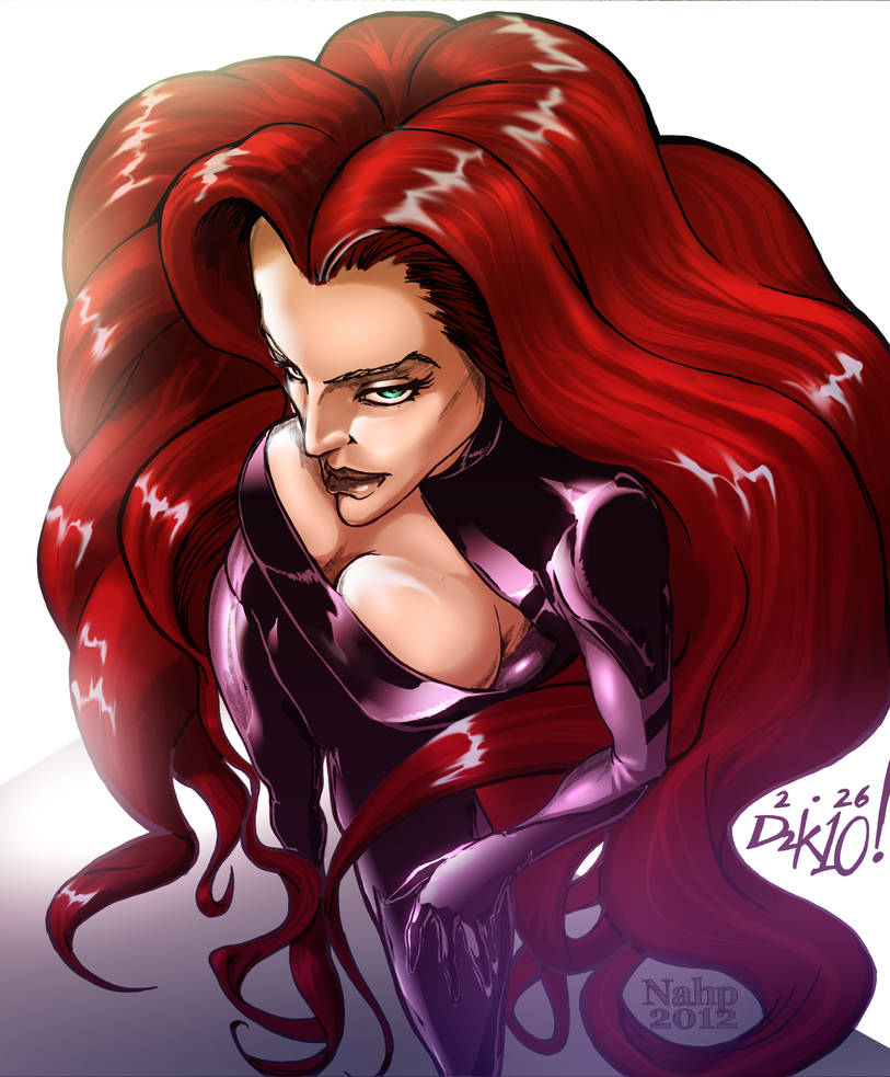 Medusa of the Inhumans (Colored!)