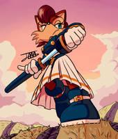 Sally Acorn, Sonic Legacy by Pepe201