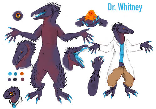 Dr Whitney Concept art