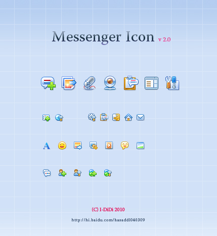 Messenger Icon Demo V2.0 by aipotuDENG