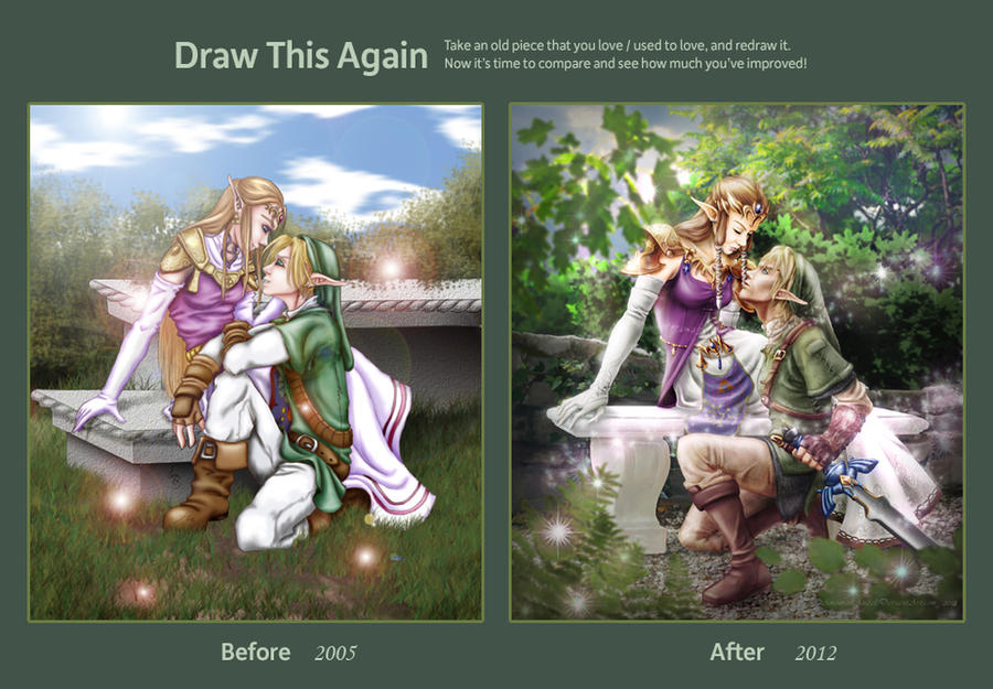 Draw this again - Magic Garden by amoniakAngel