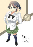 Shizune - Katawa Shoujo by daily-mianserin