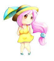 Chibi Ayane - Porkchop n Flatscreen by MomoChan-100