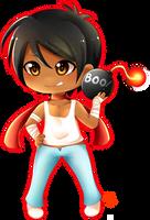 Chibi Mai - Porkchop n Flatscreen by MomoChan-100