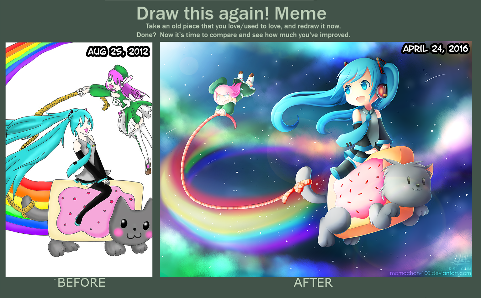 draw_this_again___riding_on_nyan_cat_by_momochan_100 da08kkw draw this again riding on nyan cat by momochan 100 on deviantart
