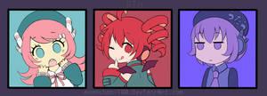 3 UTAUs Girls