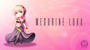 Happy 10th Birthday Megurine Luka