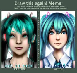 Draw this Again - Miku