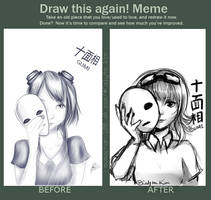 Draw this Again Meme - Gumi