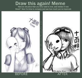 Draw this Again Meme - Gumi