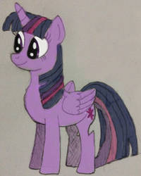 Purple Pone Colouring Test