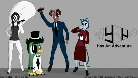 Nyah, Lone, Arph and Skye by NeonWabbit