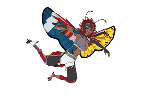 Scarlet (fanart for ToxicKitty)