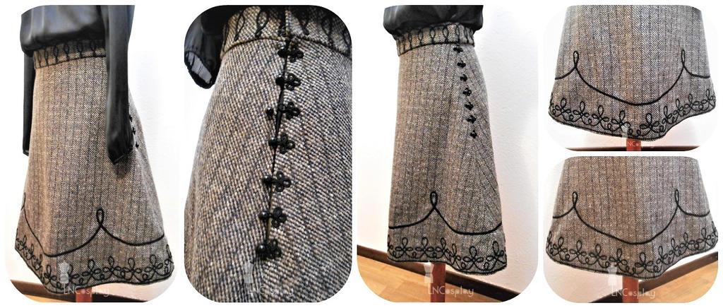 Viktoria Skirt by LauraNiko
