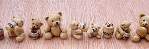 Tiny Honey Bears