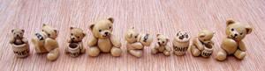 Tiny Honey Bears