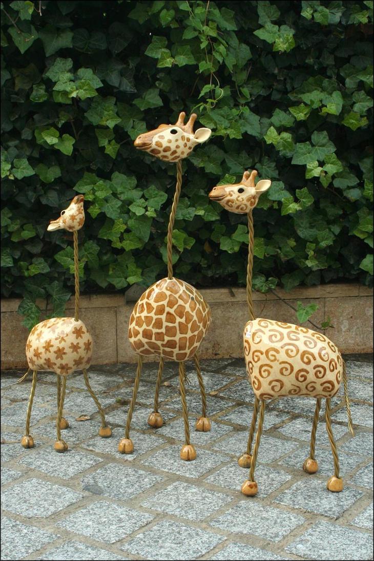 Giraffes by Hippopottermiss