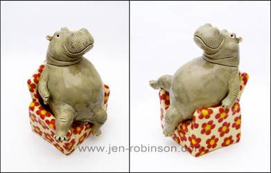 Armchair-hippo