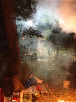 Paper Kiln Smoke